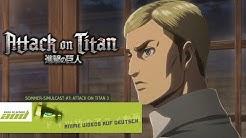 Staffel 3 FRÜH, in guter QUALITÄT & LEGAL schauen! Attack on Titan Staffel 3 lizenziert!