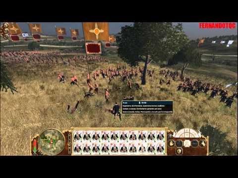 Empire total war: Prusia.-Batalla por Texas PARTE 96 HD