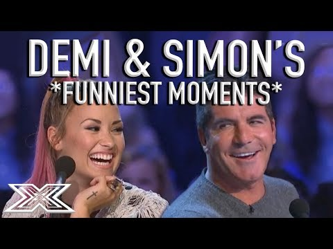 """""""Don't Kiss Niall!"""" Demi Lovato & Simon Cowell's Funniest X Factor Moments! 