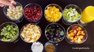 Food Street-Style Fresh Fruit Salad   Fruit Chaat Recipe   Ramadan Recipes