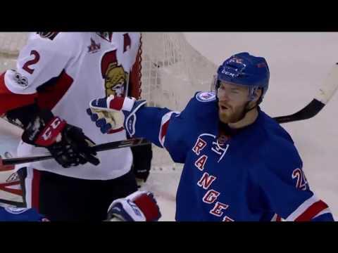 Ottawa Senators   New York Rangers   Плей офф 1/4 игра №3