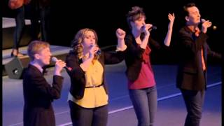 "WMU Gold Company and Four Corners sings ""Bli Blip"""