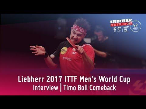 2017 Men's World Cup I Timo Comeback Interview