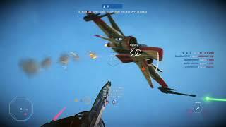 STAR WARS Battlefront 2 - Kashyyyk Multiplayer Fighter Gameplay (Xbox One 2017)