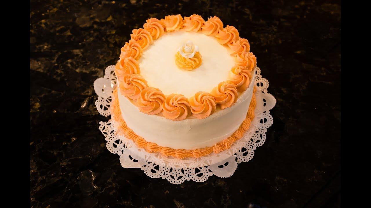 Pumpkin Cream Cheese Mousse Cake - YouTube
