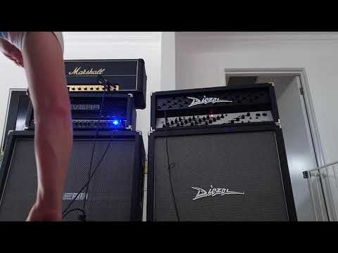 Adam Jones TOOL Tones #2- Diezel VH4 + Marshall JMP Superbass + Rivera Knucklehead Tre Reverb