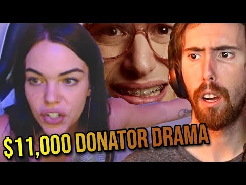Asmongold Reacts To $11,000 Donator Drama With Girl Streamer (Boobles) - LivestreamFail