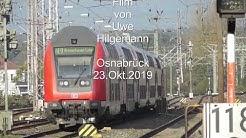 Osnabrück Hbf oberer Bahnhof - Zeitkapsel vom 23.10.2019