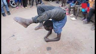 Benshi bagize ubwoba Nyabugogo- Yihinduye nk'urupfu anikorera ikibuno cye ku mutwe