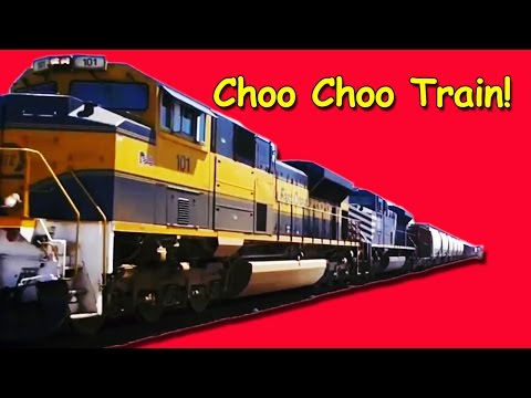 Train Song: Choo Choo Train for Children, Kids, Babies and Toddlers | Counting Song | Patty Shukla