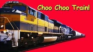 Train Song | Choo Choo Train | Counting Song | Children