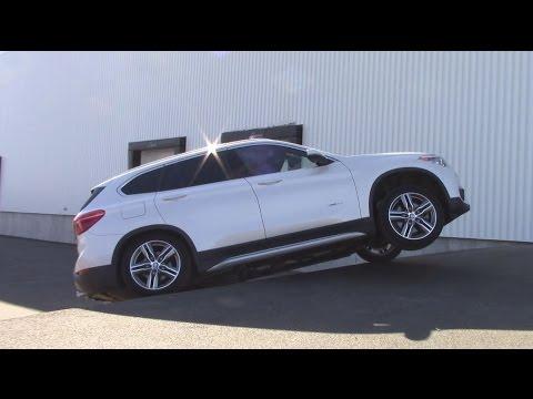 Xdrive AWD TEST : Bmw X1 xDrive28i 2016 Diagonal test