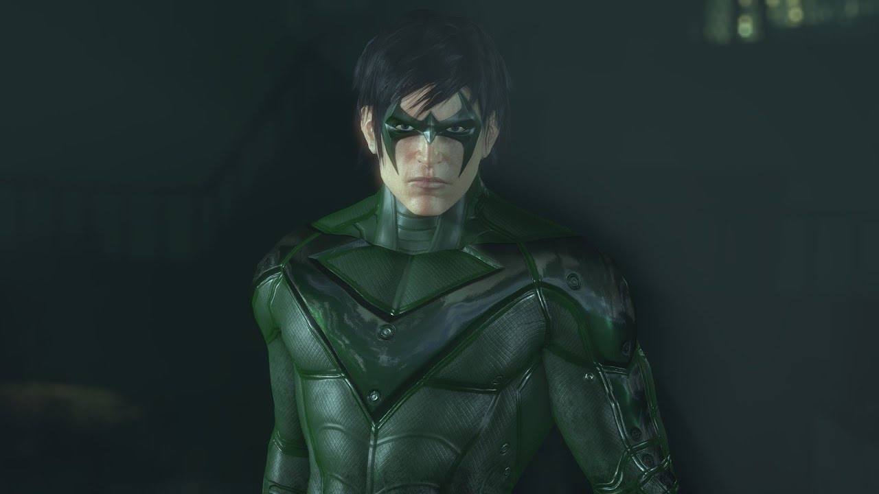 SKIN; Batman; Arkham City; Green Nightwing - YouTube