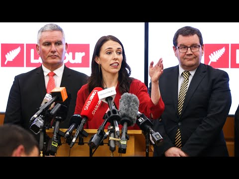'Honoured and privileged': Jacinda Ardern on being New Zealand's next PM