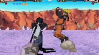 Naruto Shippuden Shinobi Retsuden 3 Naruto Vs Sasuke