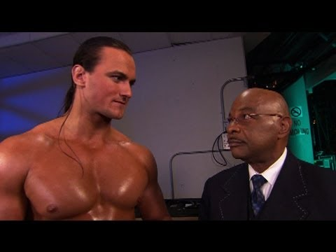 SmackDown: General Manager Theodore Long tells Drew - YouTube