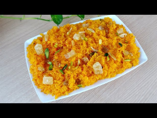 ??????? ????????? ???? ????? ?????? ? ???? ????? ??????? ?????? ? Shahi Zarda Jorda Recipe in Bangla