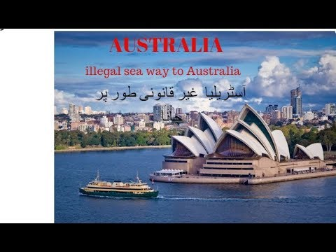 Illegal sea way  Indonesia to Australia ||ship video
