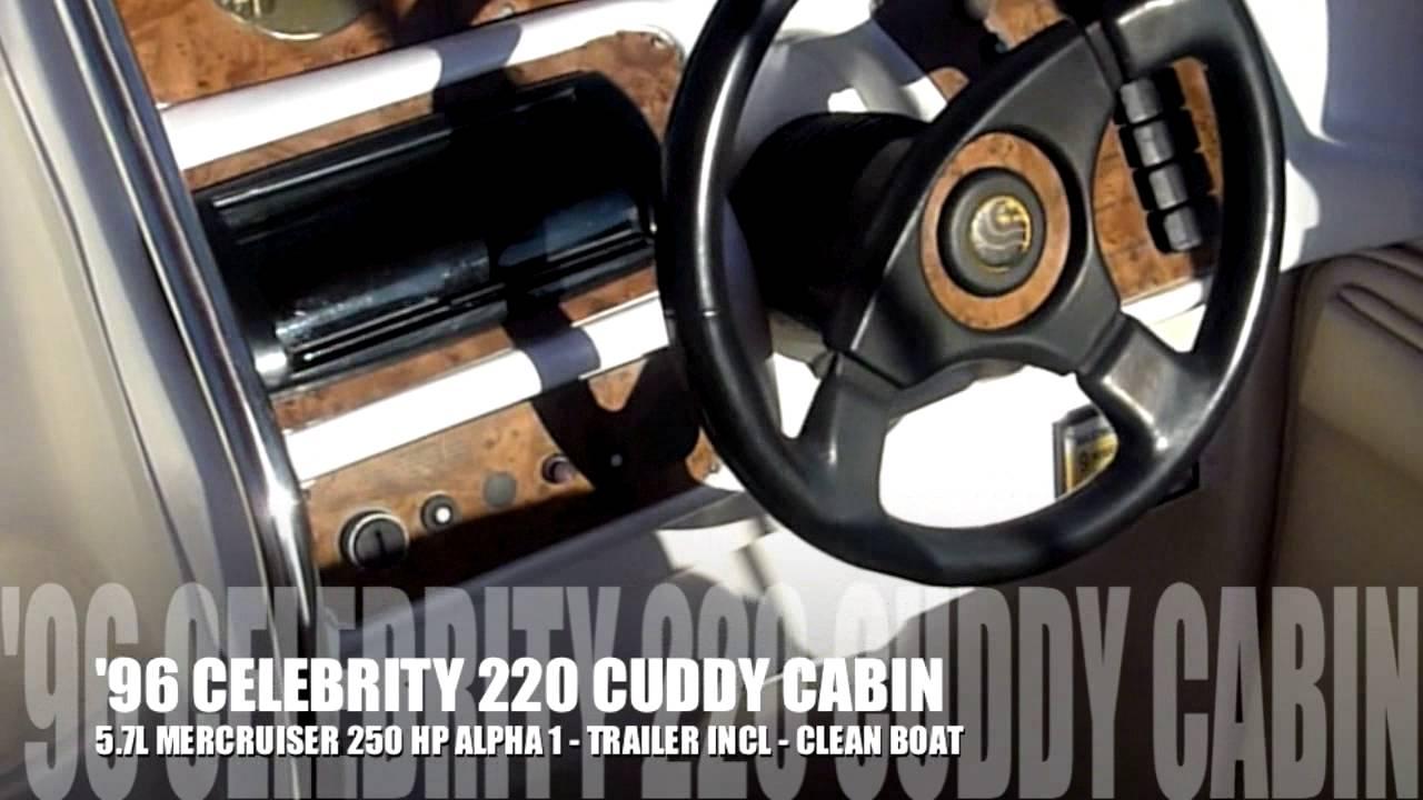1997 Celebrity Boats CUDDY CABIN 220 Price, Used Value ...