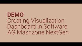Software AG Mashzone NextGen DEMO: Oluşturma Görselleştirme Pano