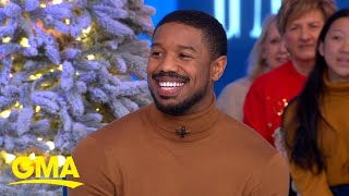 Michael B. Jordan reveals what gave him dance fever on Instagram l GMA