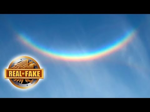UPSIDE DOWN RAINBOW - real or fake?