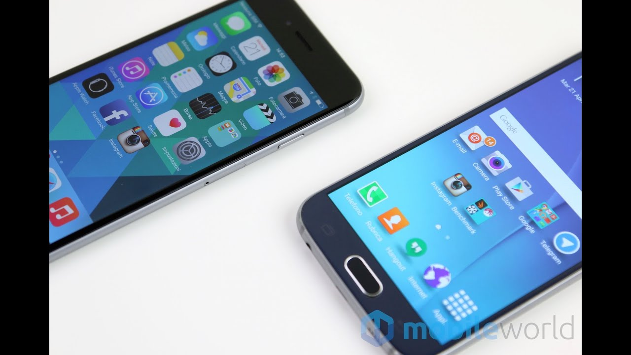 Iphone 6 32gb confronta con samsung s6