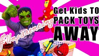 How to get kids to Put Away | Clean Up & Pack Away toys