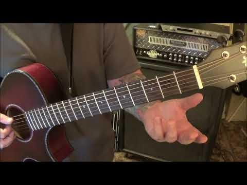THE HOLLIES - BUS STOP - CVT Guitar Lesson by Mike Gross