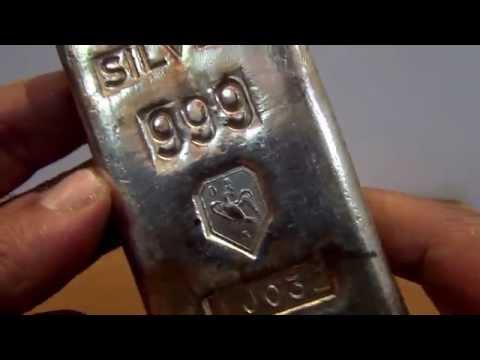 Rare Vintage 1 kilo Silver Bar - Swiss Bank Corp