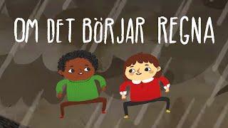 Mamma Mu & Kråkan - Om det börjar regna - Officiell musikvideo