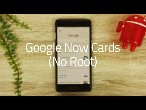 How to Get Google Now Cards (No Root) - YouTube