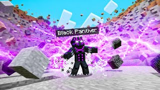 Playing As BLACK PANTHER In Minecraft!