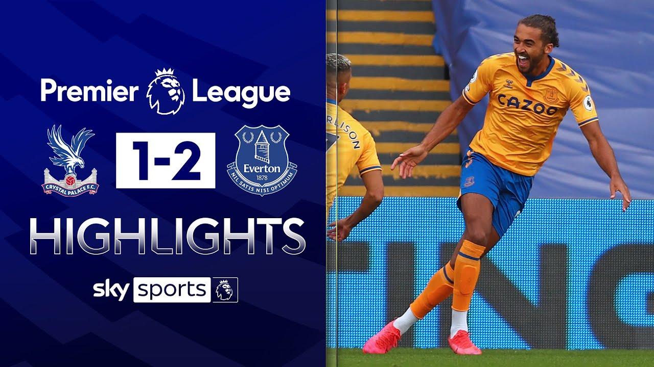 Calvert-Lewin on target again for unbeaten Everton!   Crystal Palace 1-2 Everton   EPL Highlights
