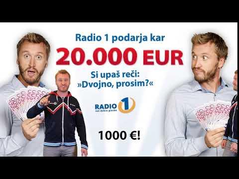 DVOJNO, PROSIM: Osvoji 1.000 EUR