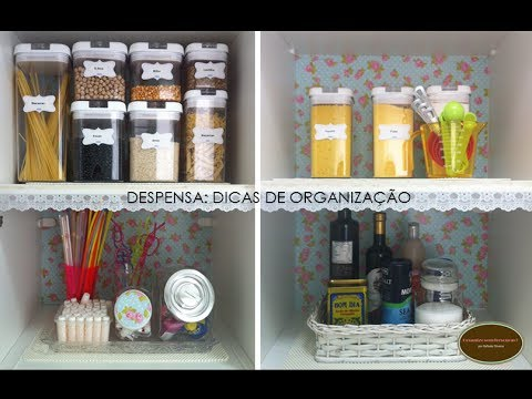 Organizando a minha despensa organize sem frescuras - Armarios para despensa ...