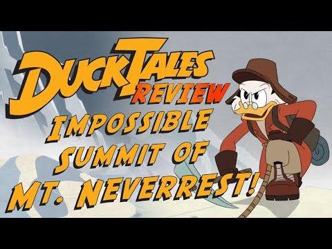 Disney XD's DuckTales: Scrooge vs Mt. Neverrest   Review  