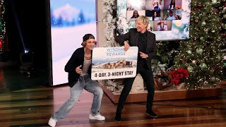 Justin Bieber Jumps for Joy in Day 5 of 12 Days