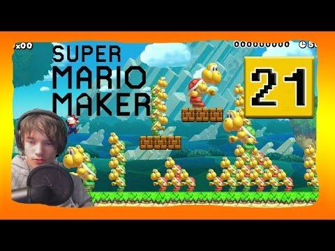 🔴 Super Mario Maker Online # 21: FAQ Part- Ich beantworte EURE Fragen!   [DE]/[2K]