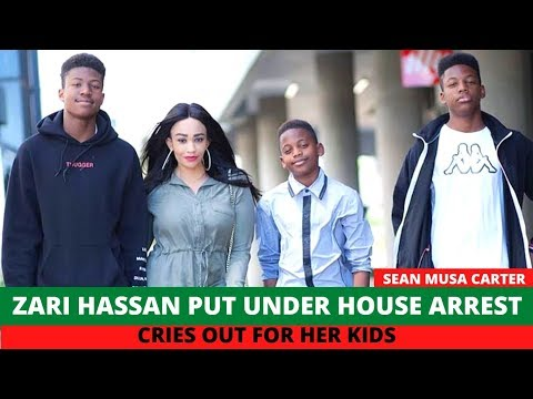 Zari Hassan Put Under House Arrest, Cries Out For Her Kids