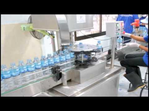 น้ำดื่มตราเฟิร์ส ขั้นตอนการบรรจุ