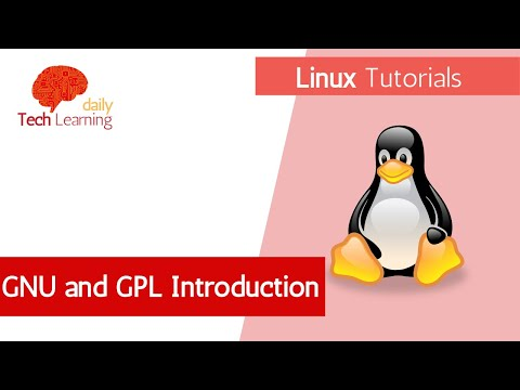 Linux GNU  and GPL Introduction