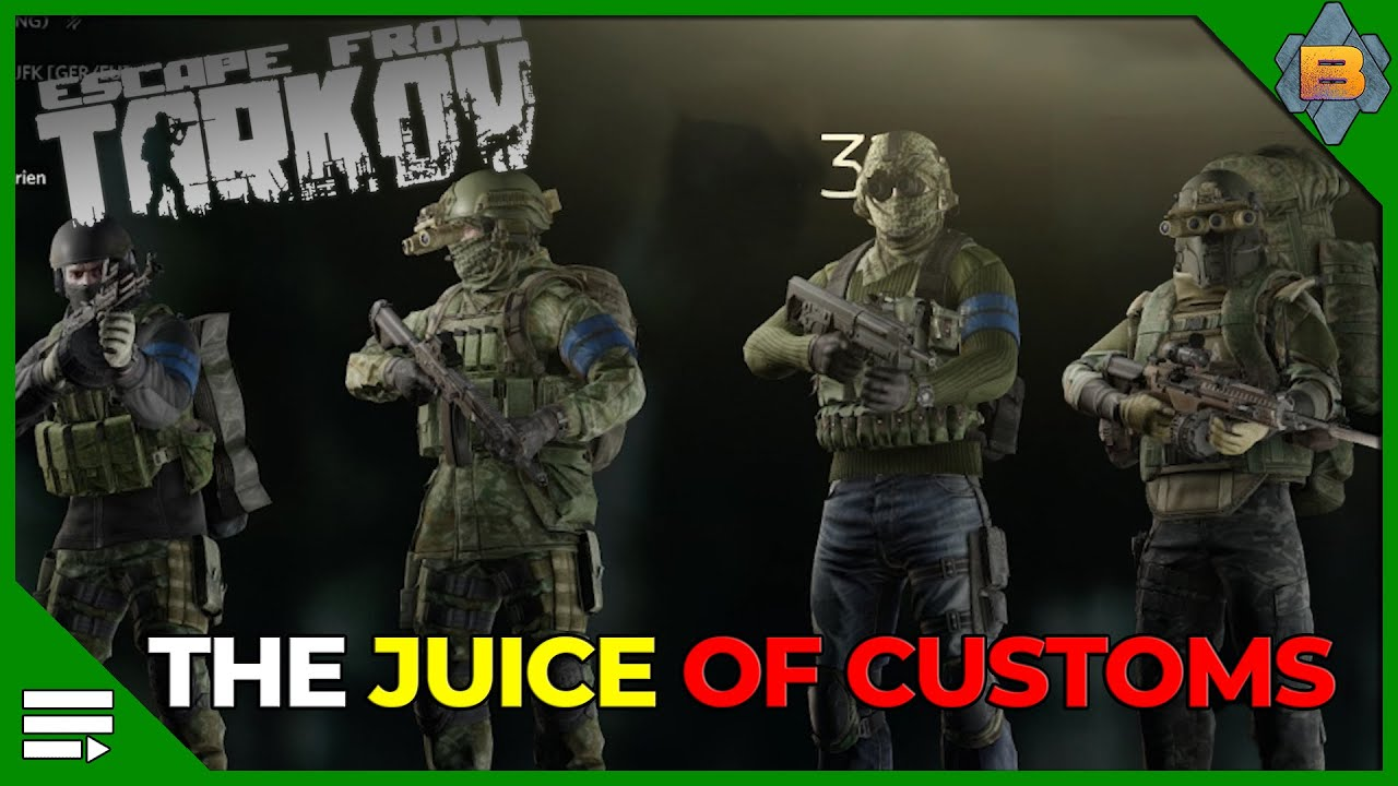 The Juice of Customs - Escape from Tarkov (full Raid) (english)