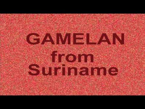 GAMELAN from Suriname (3)