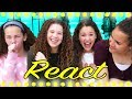 "Haschak Sisters REACT ""Let's Dance"" by MattyBRaps"