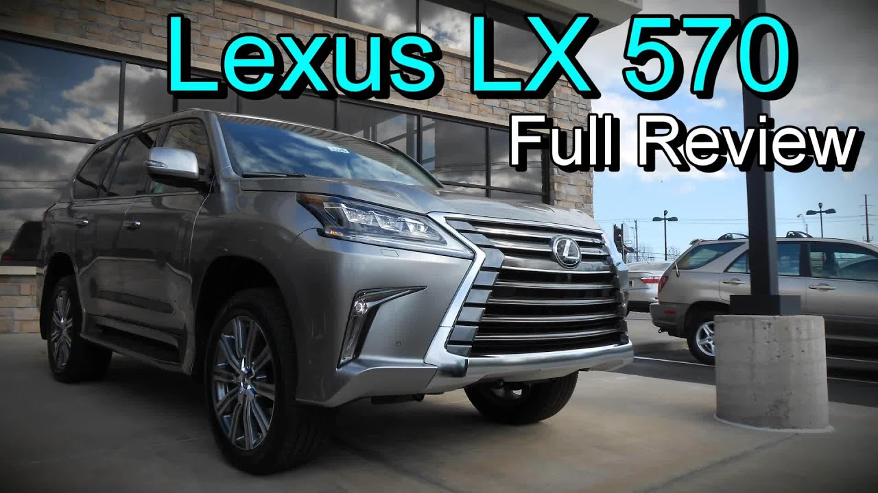 2016 Lexus LX 570 4WD Full Review