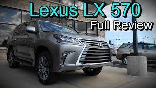 2016 Lexus LX 570 4WD Full Review