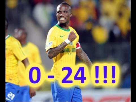 Powerlines FC 0 - 24(Yes24) Mamelodi Sundowns - Nedbank Cup 2012 - INCREDIBLE!
