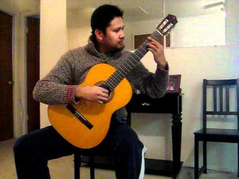 Lagrima (Francisco Tárrega)  on Takamine G126 vintage guitar - Edsel G
