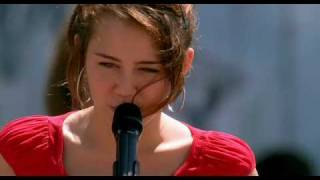 Hannah Montana music video - the climb